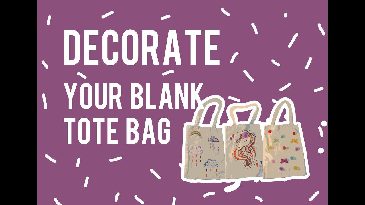 DIY 3 Tiga Cara Menghias Tote Bag Polos Sampan Mimpi