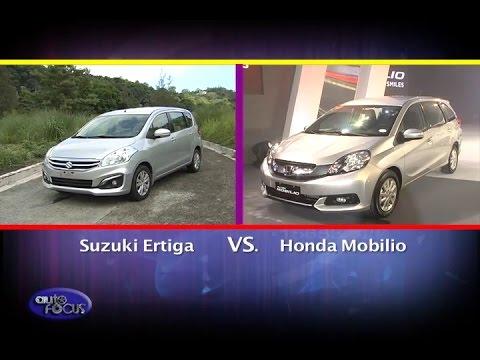Suzuki Ertiga Vs Honda Mobilio Head 2 Head Youtube