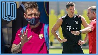 Barcelona y Bayern Munich protagonizan el duelo más atractivo de los cuartos de final de la UEFA Champions League