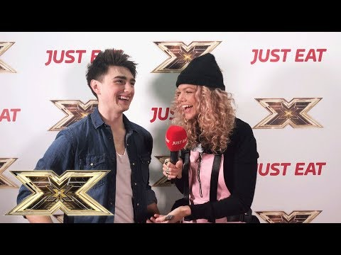 Exclusive interview with Brendan Murray from X Factor! Just Eat's Backstage Bites 2018 | Episode 7
