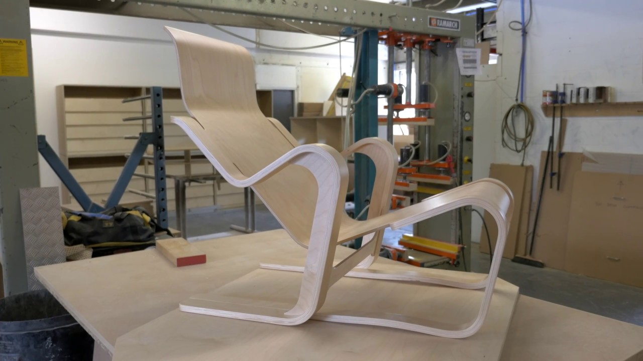 How was it made? moulding a seat for marcel breuers short chair