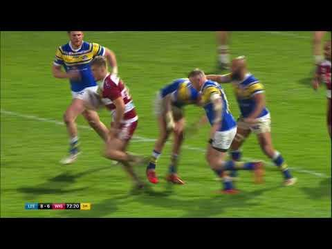 Leeds Rhinos 8 Wigan Warriors 9