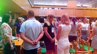 Стратегическая сессия в библиотеке Гончара