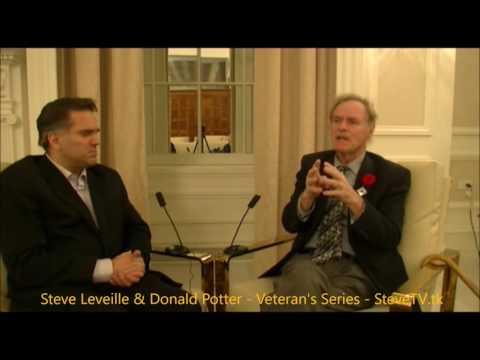 Veterans Series - Episode #1 - Donald Potter - Donald Ross Hutton - SteveTV.tk