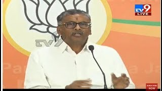 BJP NVSS Prabhakar Press Meet LIVE