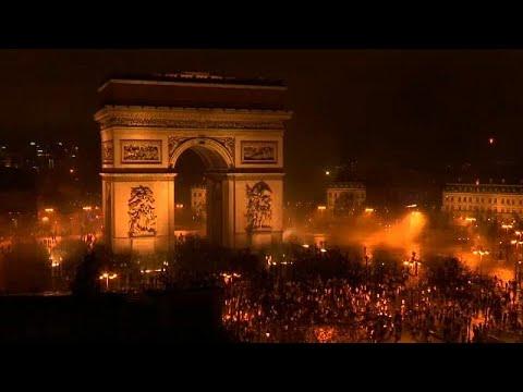Paris transformada num Campo de Batalha