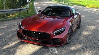 EXTREM LOUD Mercedes-AMG-GTR w/ Fi Exhaust System! REVS & CRAZY CRACKLES!