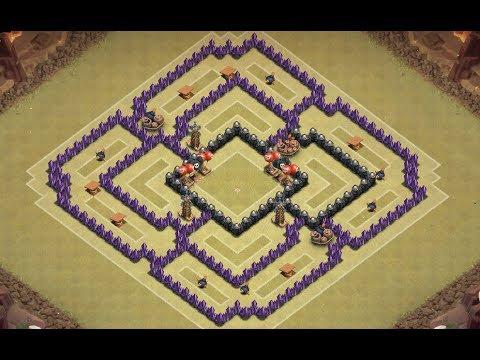 clash of clans beste rathaus 8 base german hd by dreeg 24