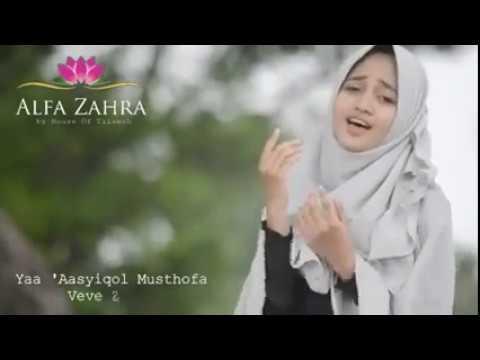 Veve zulfikar bersholawat - Ya Asyiqol Musthofa - Alfa Zahra