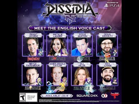 DISSIDIA FINAL TASY NT: Behind the English voicecast