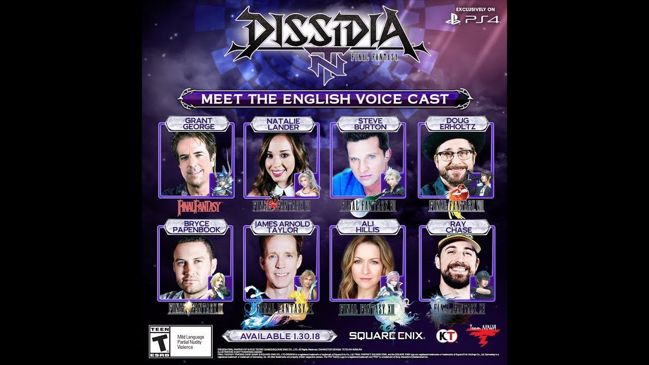 dissidia nt jecht voice actor