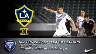 USL PRO Playoffs -- Chandler Hoffman, LA Galaxy II