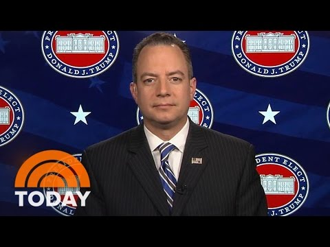 Reince Priebus Calls Unverified Report About Donald Trump 'Shameful' | TODAY