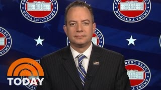 Reince Priebus Calls Unverified Report About Donald Trump 'Shameful' | TODAY thumbnail