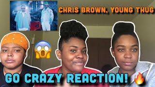 Chris brown, young thug - go crazy (official video) reaction!!!
