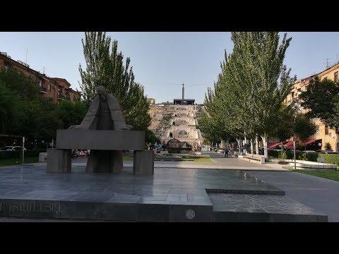 Лестница в небо Ереван.«Каскад» — архитектурно-монументальный комплекс, Армения.