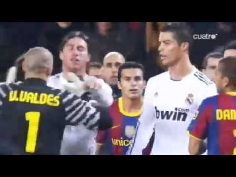 Cristiano Ronaldo fight with Pep Guardiola and Barcelona players