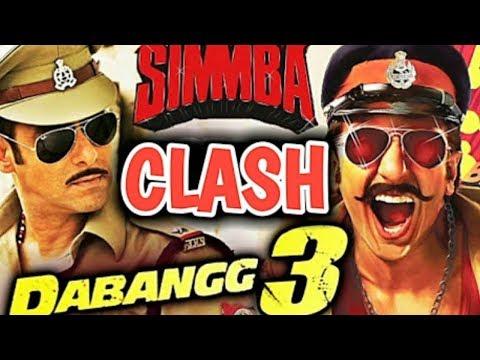 BIG CLASH 4 : Dabangg 3 Vs Simmba  -...