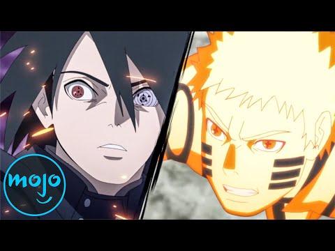 Top 10 Naruto and Sasuke Team-Up Fights
