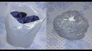 видео Вакуумная упаковка для одежды