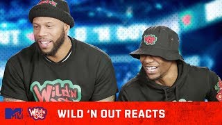 Bobb'e J & Tyler Chronicles Get High Before Their Wild 'N Out Auditions 🚬| Wild 'N Out Reacts | MTV