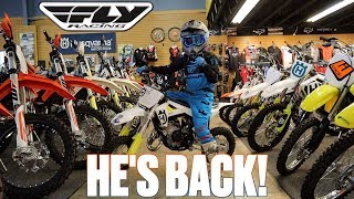 HE'S BACK! WHAT DO I NEED TO START MOTOCROSS | GETTING KIDS STARTED ON DIRT BIKES | KIDS MX GEAR
