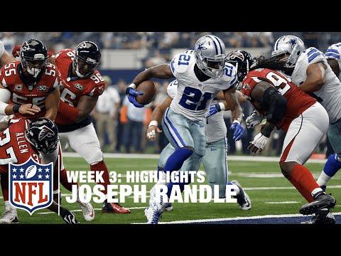 Joseph Randle Highlights (Week 3)   Falcons vs. Cowboys   NFL