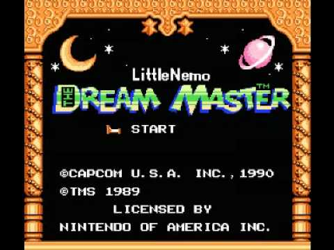 Misc Computer Games - Little Nemo The Dream Master - Dream 7 Topsy-turvy