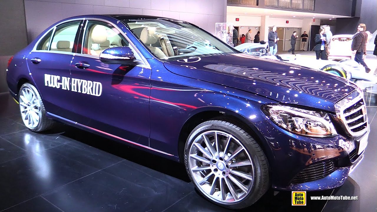2015 mercedes benz c class c350 plug in hybrid ext interior walkaround 2015 detroit auto. Black Bedroom Furniture Sets. Home Design Ideas