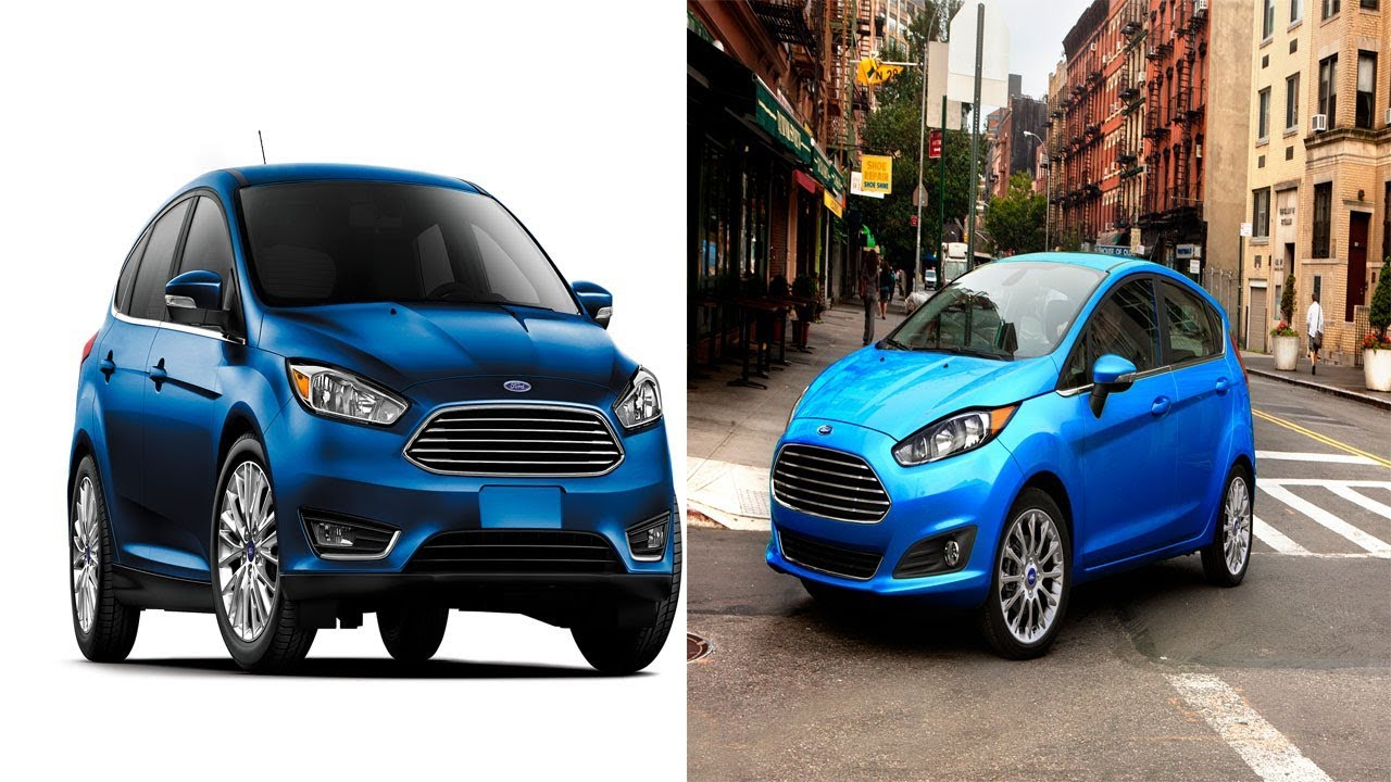 2017 Ford Focus Vs 2017 Ford Fiesta Which Of Ford S Small Cars Is Right For You