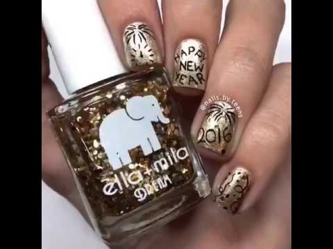 New years mani by nailsteens song love yourself justin new years mani by nailsteens song love yourself justin bieber solutioingenieria Choice Image