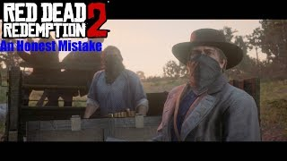 Athur and The Gang Hides From Cornwall's Men - Red Dead Redemption 2 (An Honest Mistake)