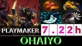 Ohaiyo [Axe] 19 Assists The Godlike SEA Playmaker ► Dota 2 7.22h