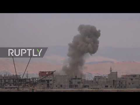 Syria: SAA launches rockets on IS targets south of Damascus - reports
