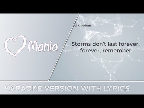 SuRie - Storm (United Kingdom) // Karaoke Version // ESC Mania