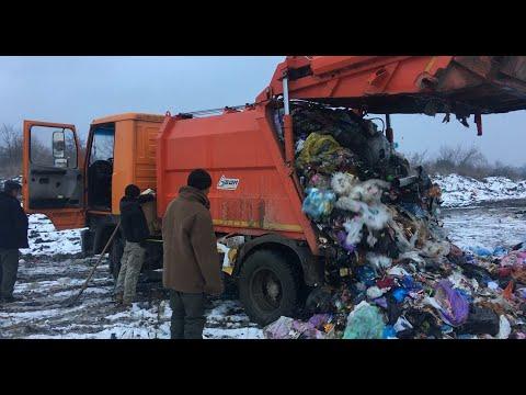 Вивіз сміття на околиці Яворова. МКП Житлокомунсервіс 31-01-20