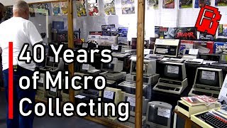 Huge Rare Computer Collection - The Micro Museum | Retro Road Trip