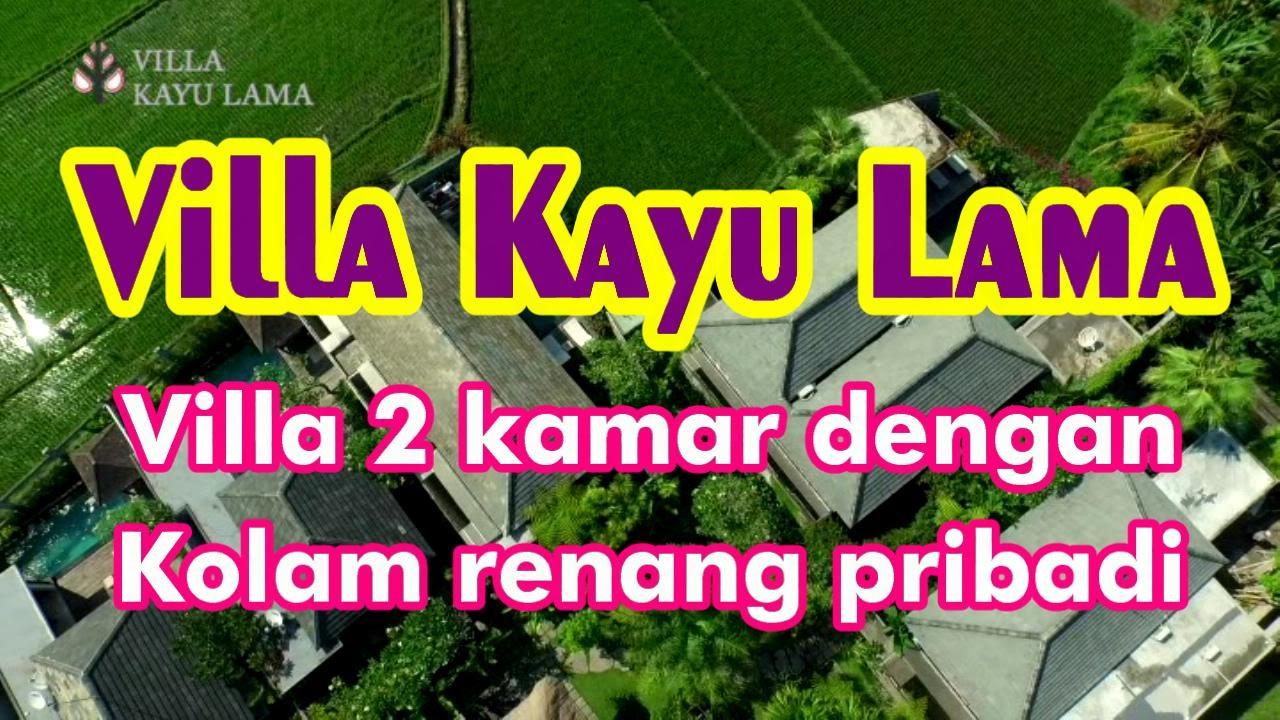 Bali 002 Villa Kayu Lama 2 Kamar Dengan Kolam Renang Pribadi Hanya Rp 2160000