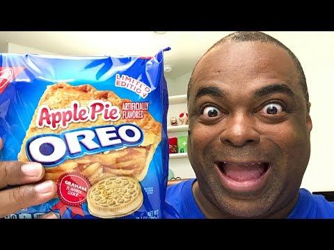 Apple Pie Oreo Cookies TASTE TEST!
