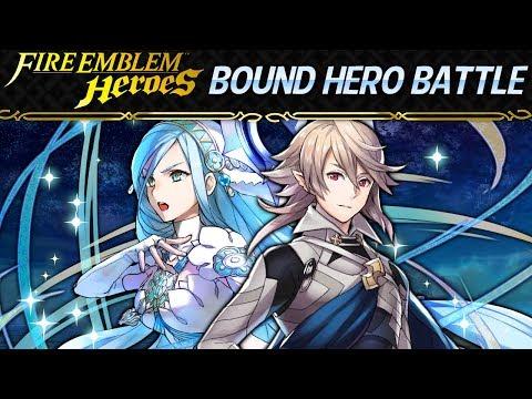 Fire Emblem Heroes - Corrin and Azura: Bound Hero Battle INFERNAL w/ F2P Units, No SI