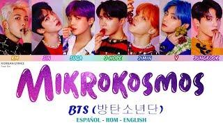 Gambar cover BTS - MIKROKOSMOS | Lyrics: Español - Rom - English
