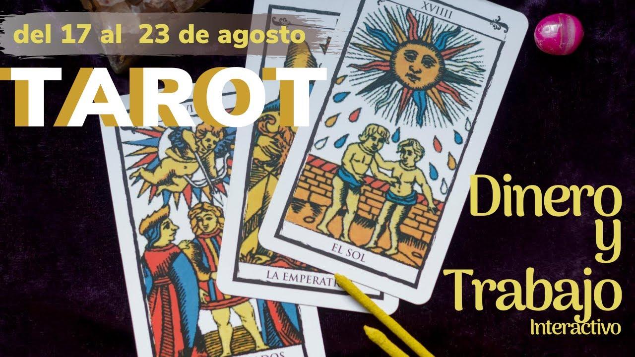 Dinero💸 y Trabajo - Tarot Tortuga🐢 - Interactivo- del 17 al 23 de agosto de 2020✨