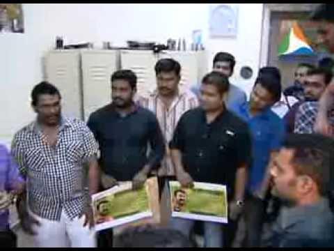 """Mohanlal Fans Dubai Joined  JAIHIND TV's """"AMMAKKORU ONAKKODI"""" Initiative"""