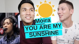 MOIRA DELA TORRE - YOU ARE MY SUNSHINE LIVE on Wish 107.5 Bus REACTION