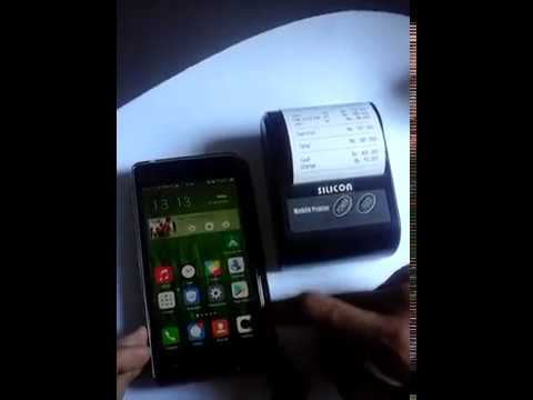 Cara Mengoperasikan Moka POS Di Android Dan Silicon Mobile Printer / Mini Printer Mobile