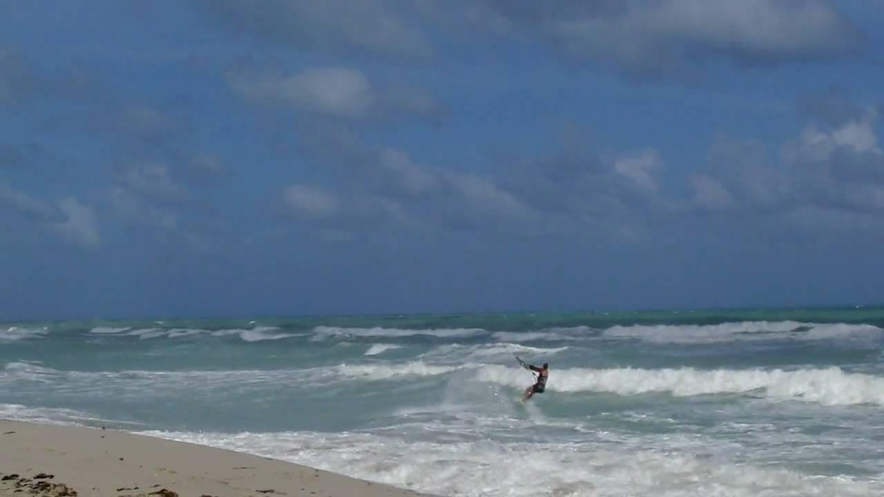 Kite Surfing In North Miami Beach Florida
