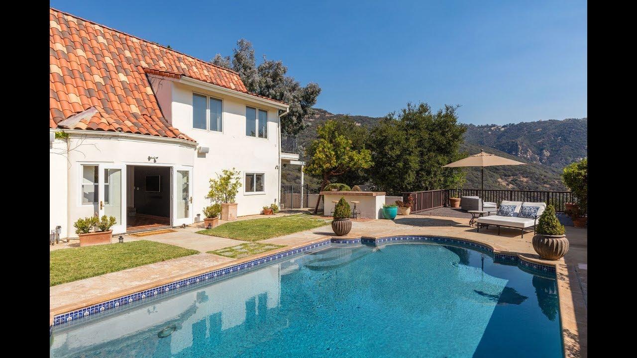 "1712 Manzanita Park Avenue, Malibu, CA 90265 - ""Enchanting Malibu Hacienda"""