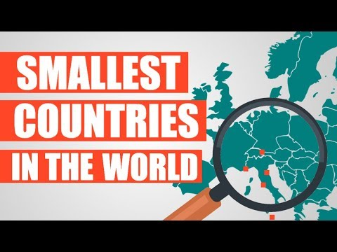 The World's Smallest Countries