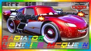 Cars 2 - Radiator Lightning McQueen (friend from Mater & Finn McMissile)