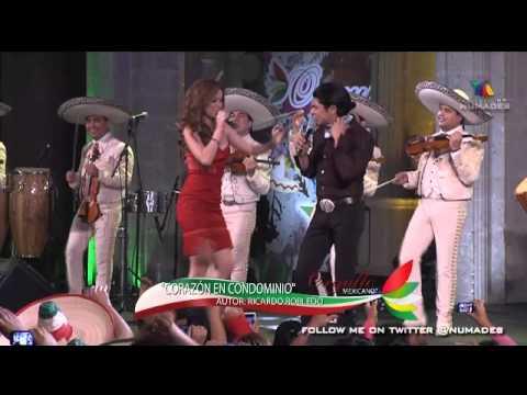 victor y cynthia - corazon en condominio con mariachi (2013916 orgullo mexicano)